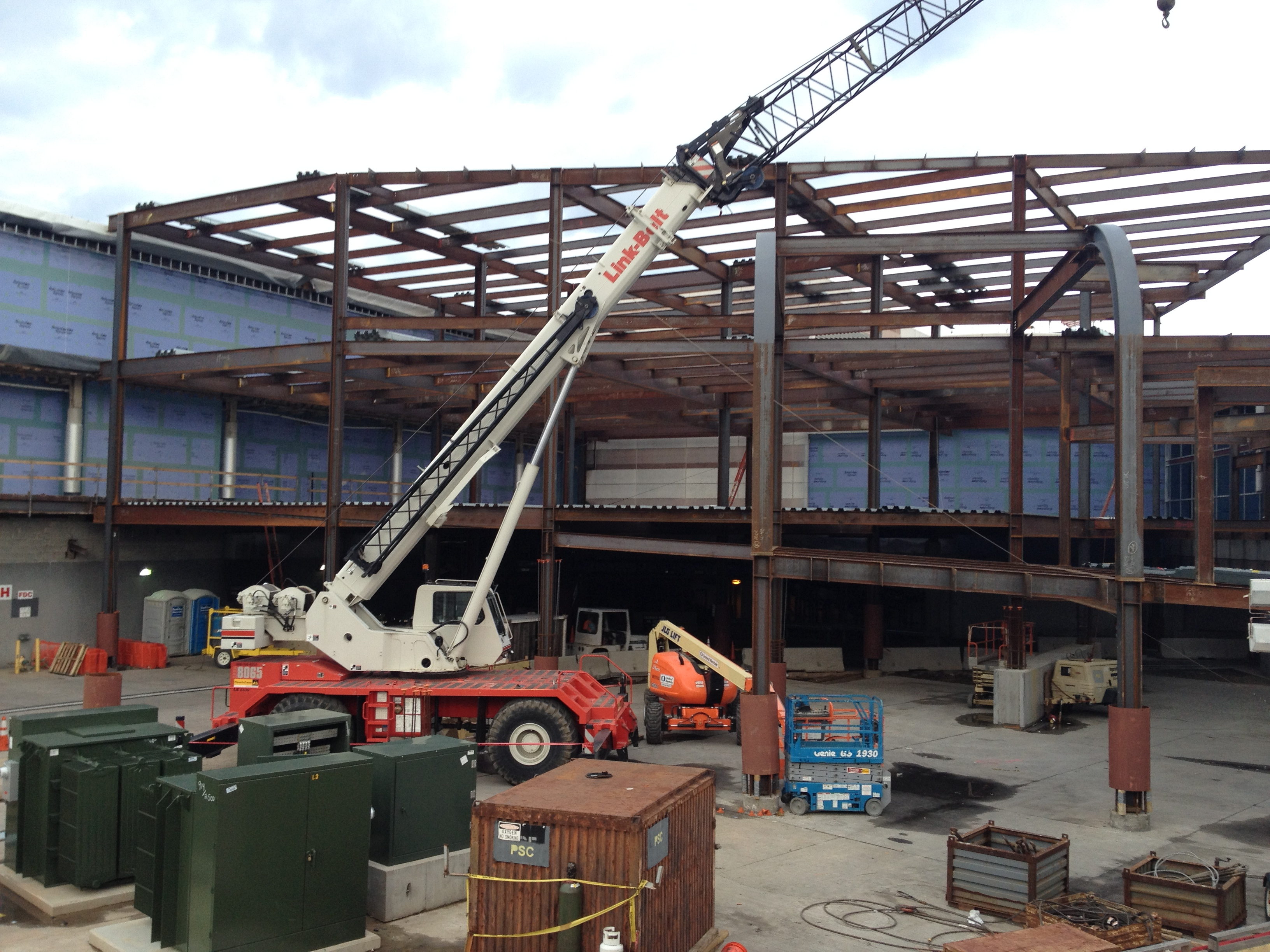 CDIA West Terminal Expansion Charlotte, NC Image