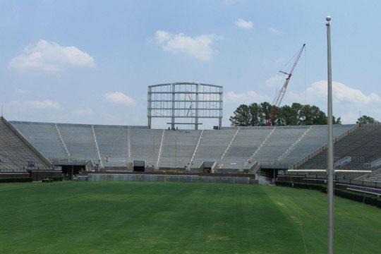East Carolina University Dowdy Ficklen Stadium End Zone Addition Image